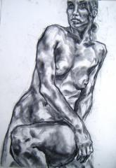 Life drawing no 1 - click here to see an enlargement