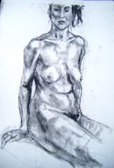 Life drawing no 2 - click here to see an enlargement