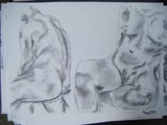 Life drawing no 5 - click here to see an enlargement