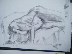 Life drawing no 4 - click here to see an enlargement