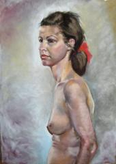 Portrait of Thea - click here to see an enlargement