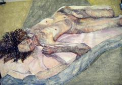 Maria J. reclining - click here to see an enlargement