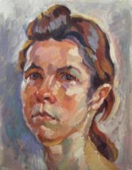 Portrait of Thea no. 2 - click here to see an enlargement