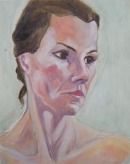 G.P. Portrait of Elly - click here to see an enlargement