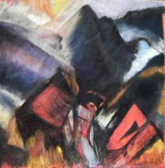 Homage to David Bomberg no.2 - click here to see an enlargement