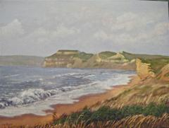 Coast at Burton Bradstock - click here to see an enlargement