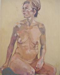 M.C. Seated Nude - click here to see an enlargement