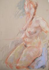 Shona in pastel - click here to see an enlargement