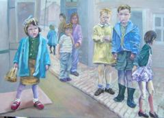 Gorbals Children - click here to see an enlargement
