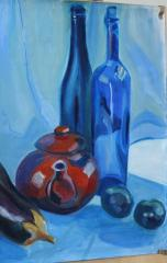 Blue Still Life - click here to see an enlargement