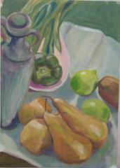 Green Still Life - click here to see an enlargement