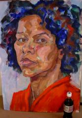 Portrait of Martine - click here to see an enlargement (opens a new window in front of this page)